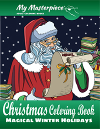 Christmas Coloring Book - Magical Winter Holidays